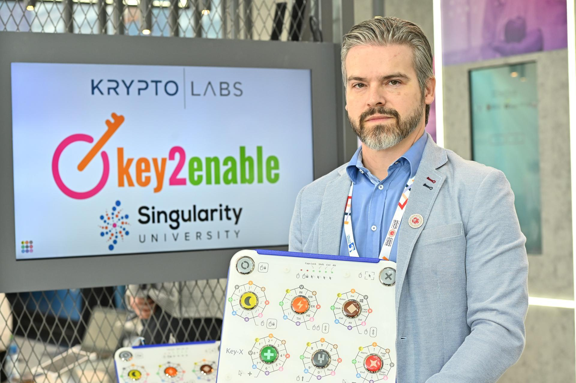 Jose Rubinger, co-founder of Key2enable Assistive Technology